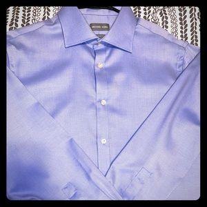 Michael Kors Dress Shirt Blue
